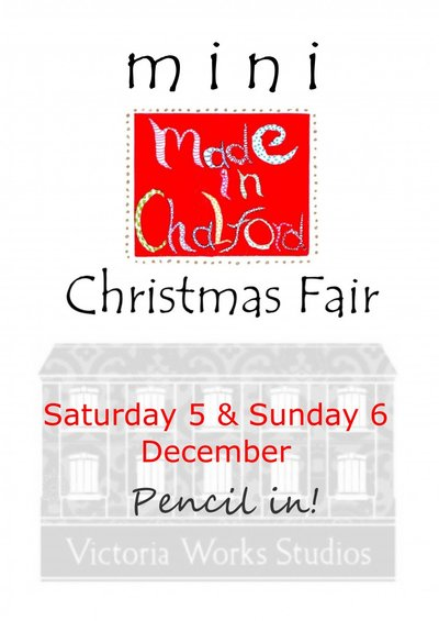 Christmas Fair at Victoria Works Studios